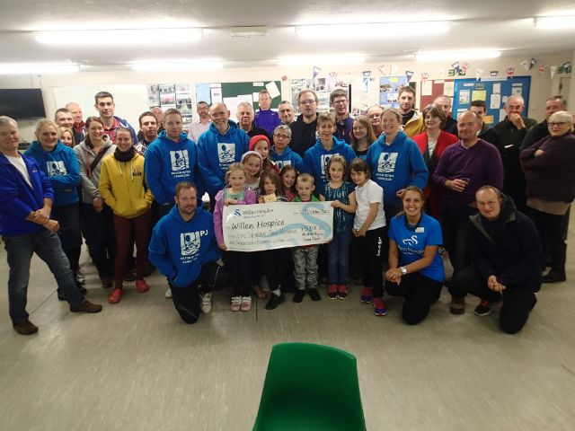 Big thank you to Milton Keynes Canoe Club for their fantastic support! We are incredibly grateful to have been their charity of the year for 2016!  Throughout the year they've supported us with various challenges from canoeing, paddling, swimming and much more; they raise just over £5300 to support our care at Willen Hospice.