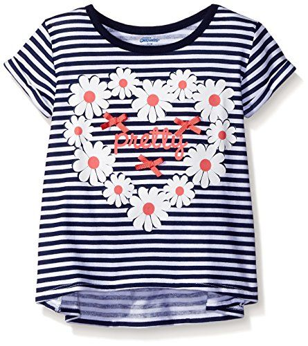 Gerber Graduates Girls Short Sleeve Swing Top with Back R... http://a.co/f0cfQ0Z