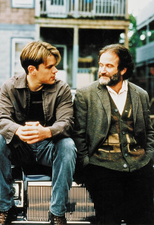 GOOD WILL HUNTING is my favorite movie of all time...I never get sick of the storyline...It's amazingly written & the acting is phenomenal...it's about struggle & conquering that struggle! <3