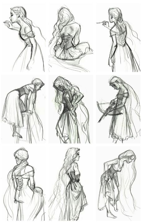 Concept Character Design Tips : Rapunzel concept art jin kim a r t pinterest