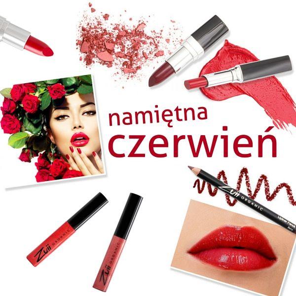 Namiętna czerwień - Czerwień, złoto, czerń - klasyka na karnawał  Czerwień skupia się na ustach. Wyraziste usta, to przebój tego sezonu.