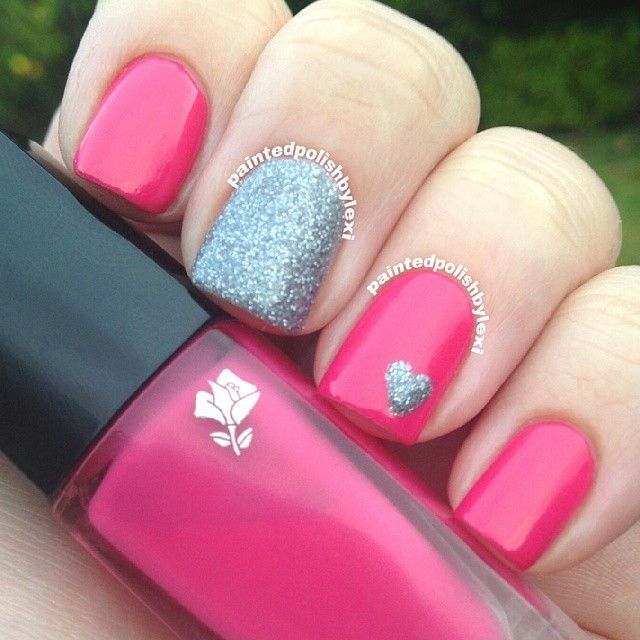 VALENTINE by paintedpolishbylexi  #nail #nails #nailart