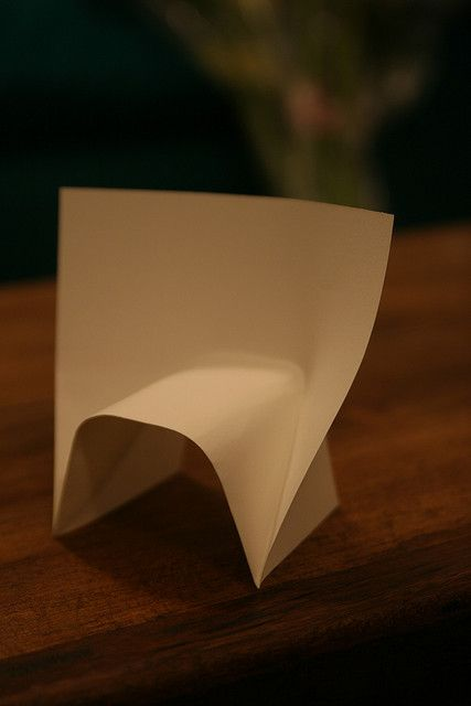 paper chair | Flickr - Photo Sharing!