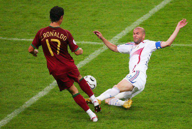 Ronaldo vs Zidane