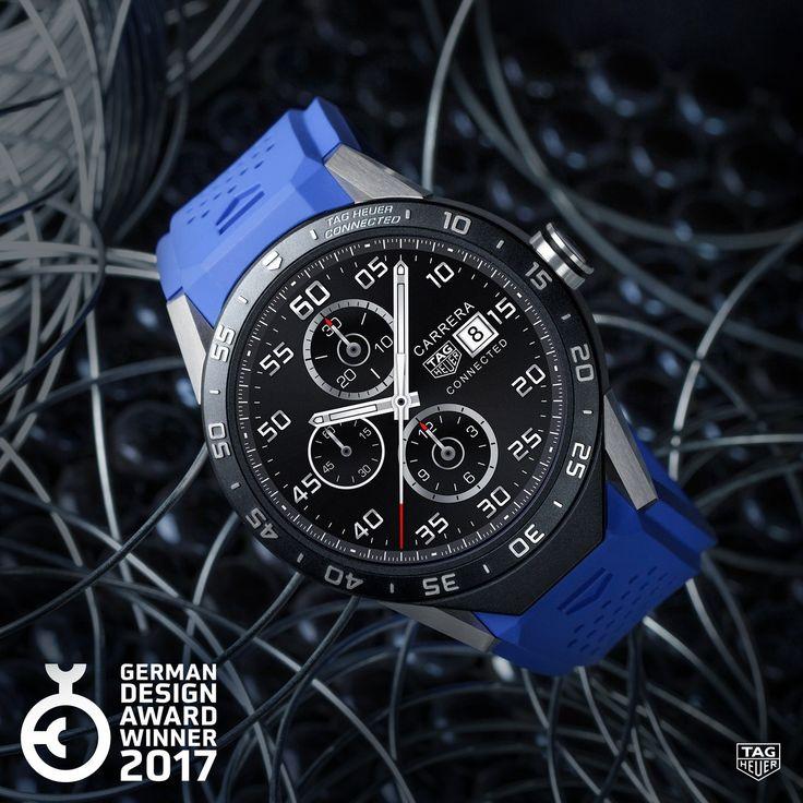 Die TAG Heuer Connected wurde von einer Fachjury mit dem ersten Platz des renommierten German Design Award in der Kategorie Luxury Goods ausgezeichnet.