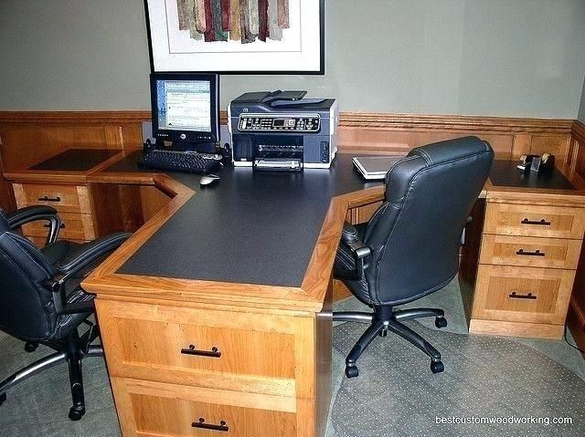 2 Person Corner Desk Two Person Desks 2 Person Desk Home Office Crafts Two Person Corner Desks 2 Person Corne Home Office Desks Home Desk Home Office Furniture