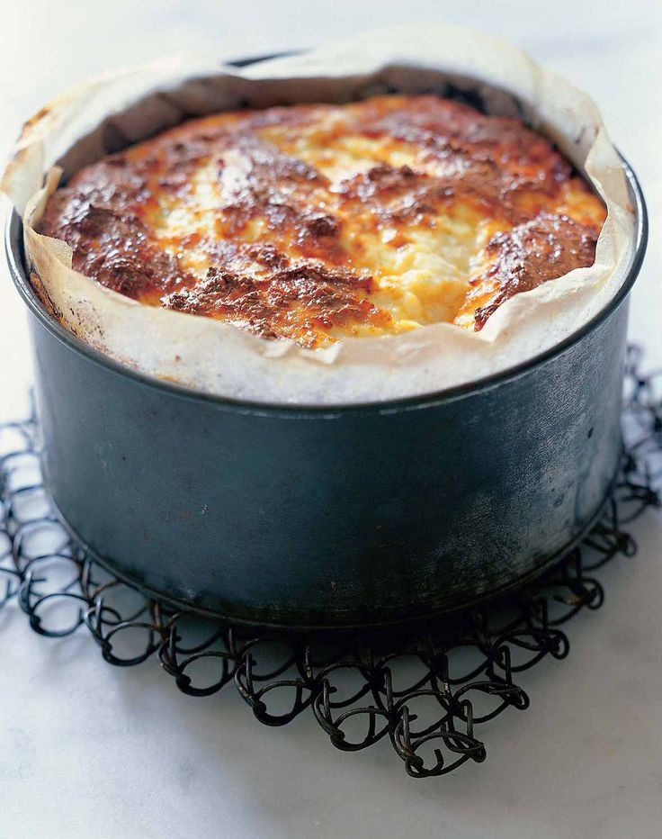 Baked Ricotta Recipe (This baked ricotta recipe is as simple as it is satiating.)