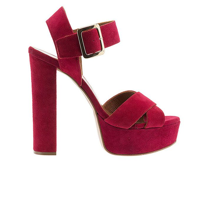 1008F03-LIPSTICK SUEDEwww.mourtzi.com #sandals #heels #mourtzi #greekdesigners #wow