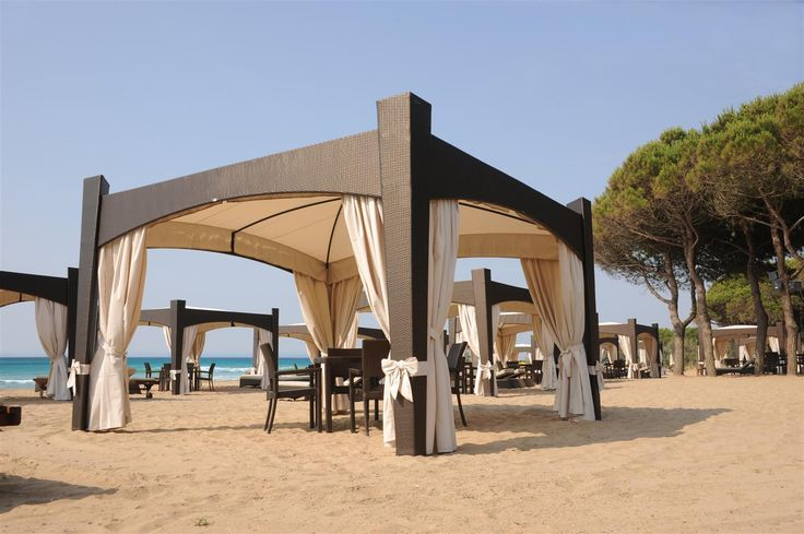 7 best beach gazebo nuovi modi di vivere la spiaggia images on pinterest cabana gazebo and. Black Bedroom Furniture Sets. Home Design Ideas