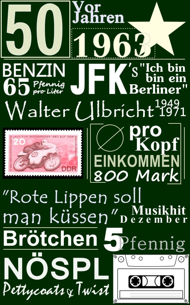 50 Geburtstag // Birthday // 1963