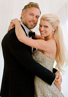 "Jessica Simpson married Eric Johnson at San Ysidro Ranch in Montecito, California on July 5, 2014. The ethereal garden wedding was inspired by the film ""Great Expecations"" and planned by Mindy Weiss. The ceremony took place in front of 275 guests including Jessica Alba, Cacee Cobb and Donald Faison."