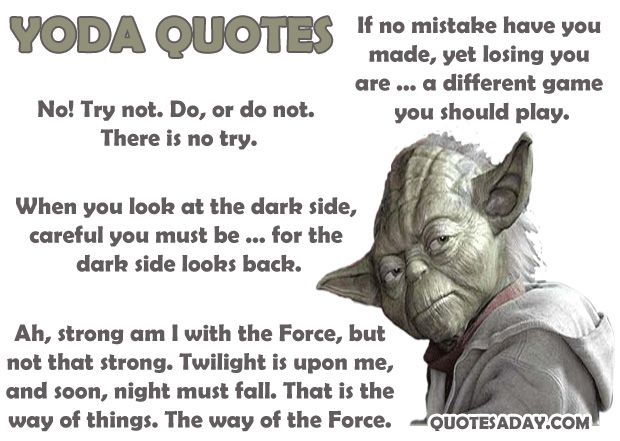 Yoda Quotes: Smiling Famous Star Wars Quotes Yoda