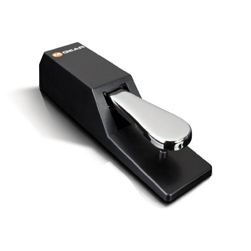 M-Audio SP-2 Sustain Pedal with Piano Style Action for Keyboards M-Audio http://www.amazon.com/dp/B00063678K/ref=cm_sw_r_pi_dp_hbKUtb05VBSV2PCK