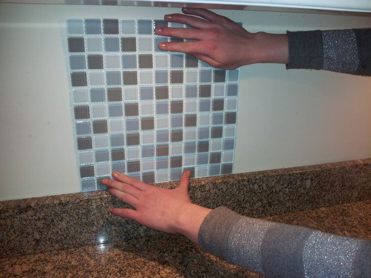 Tile Set Self Adhesive Is The Easiest And Fastest Way To Install Wall Tile Lg