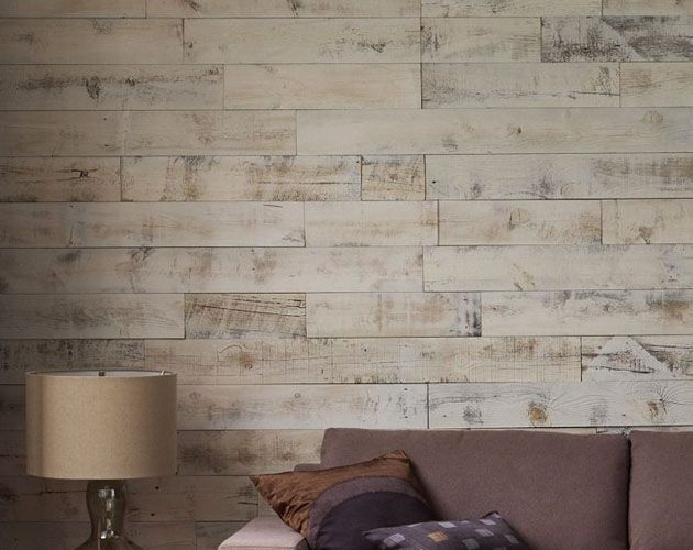 There's something extremely masculine about a reclaimed wood accent wall, and the team at Stikwood is bringing that look to households across the globe wit