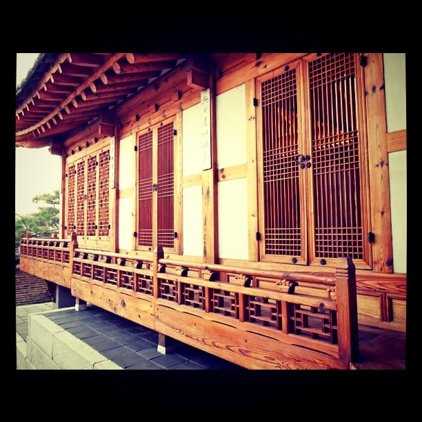 Korean Hanok (traditional house)