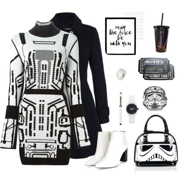 How To Wear Got tickets for Star Wars! Outfit Idea 2017 - Fashion Trends Ready To Wear For Plus Size, Curvy Women Over 20, 30, 40, 50