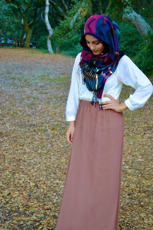 Love the colors of this hijab! | Tumblr
