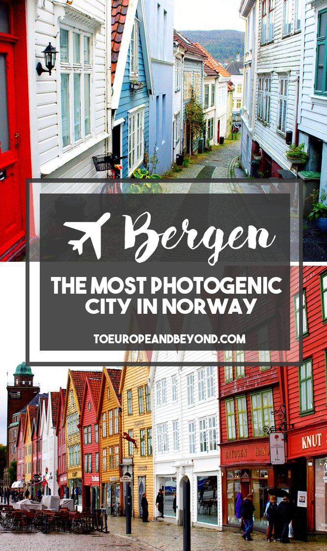 Pack your wellies, your vitamin D supplements, and your rain jacket, but do not miss out on Bergen. http://toeuropeandbeyond.com/is-visit-bergen-the-most-photogenic-place-on-the-planet/