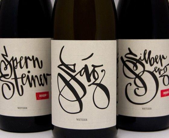 Wetzer - Etichette calligrafiche per vini artigianali