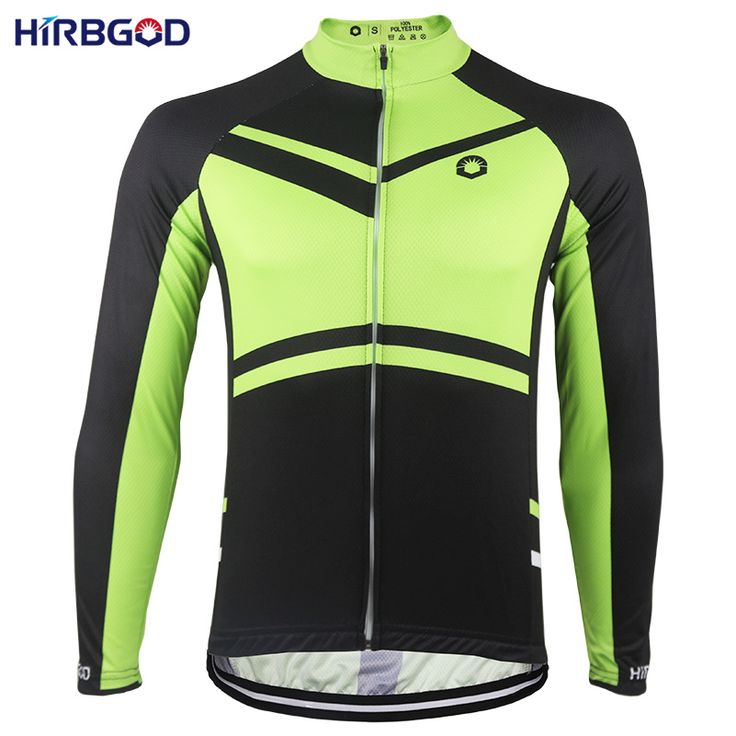 HIRBGOD 2017 Classic Men Mountain Bike Jerseys Long Sleeve Outdoor Quick Dry Cycling Jersey MTB DH Maillot Ciclismo Hombre,NR154 #Affiliate