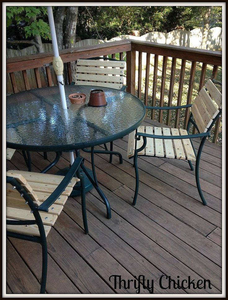 Vintage Updating the Ole Patio Chairs