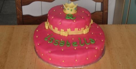 a princess bday cake