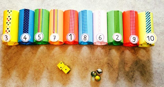 grundschul_teacher - Material, Montessori & Tipps: Jahresabschluss: Einmaleins - Minigolf