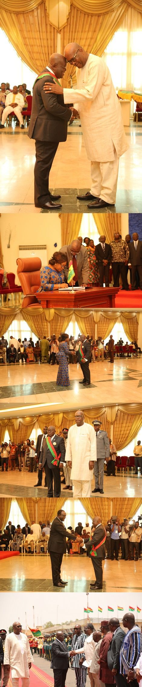 PHOTOS: Ghana, Burkina Faso Pledge To Strengthen Bilateral Ties | Politics | Peacefmonline.com