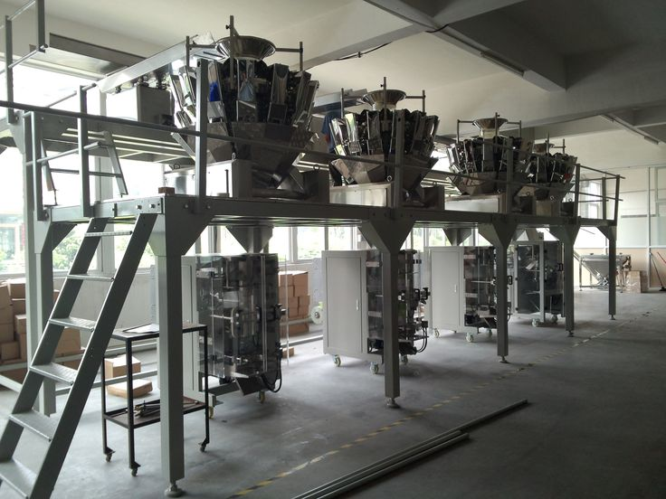 vibration feeding device  10head multihead weigher 420 VFFS packing machine