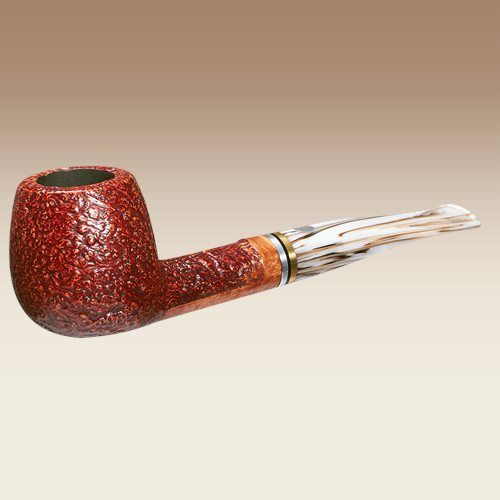 Founded in 1972 in Pesaro, Italy, Mastro de Paja creates pipes in both classical and modern styles. Mastro pipes are light for their size and are great smokers and exude fine Italian craftsmanship. The pipes feature a beautiful rustication that gives the pipes a smooth hand feel. Available in a nice assortment of shapes, take a look at the beauty that is the Mastro De Paja Classica.