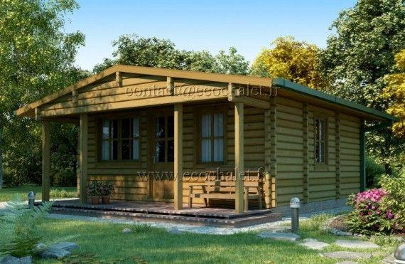 Casa da vacanza Baltic 36m² (6x6m), 68mm Prefabbricato a meno di 10.000 euro. Poi ovviamente bisogna prevedere i costi di istallazione, elettrica/idraulica, etc.