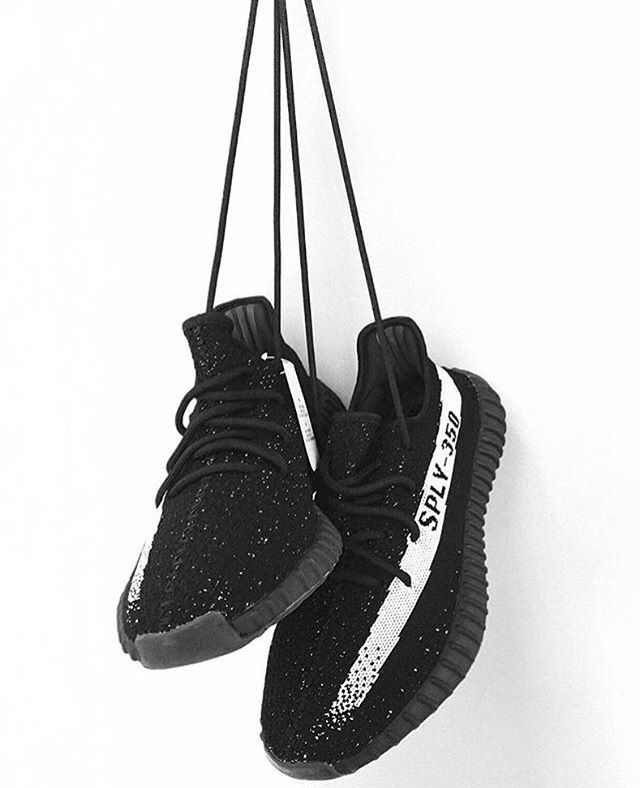 Exclusive: adidas Yeezy SPLY Boost 350 v2 Black/White