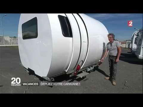 Vacances le grand retour des caravanes pliantes    FRANCE2 journal 20H le 25 juillet 2016 - YouTube
