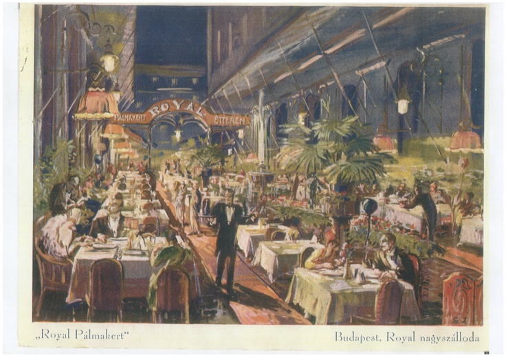 Atrium Restaurant in 1923 as Royal Palm Court