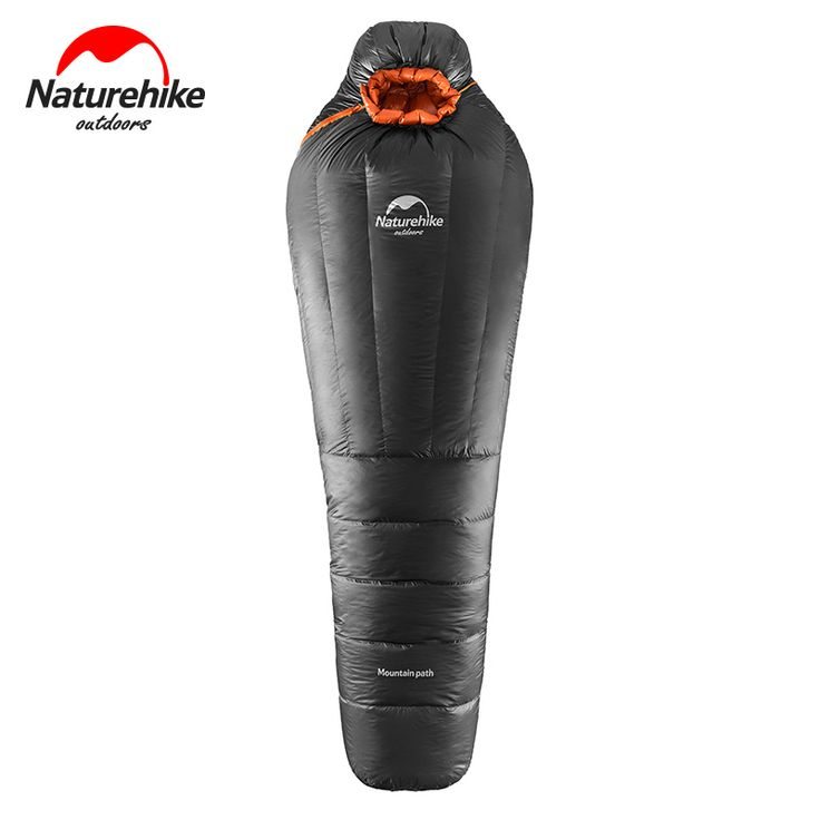 NatureHike NH Camping Equipment Goose Down Sleeping Bag Ultralight Ourdoor Mummy Bags Winter Warm