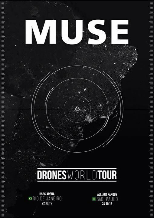 Muse Drones world tour / Maybe I'll go to the concert in Milan ❤ #LOVEMUSE