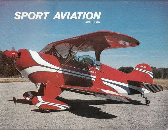 April 1978 Sport Aviation Magazine Article Experimental Aircraft