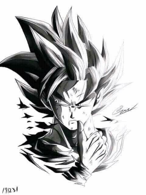 Goku Lápiz Dragonball Dragon Ball Dragon Ball Gt Dragon Ball Z