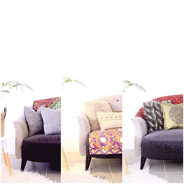 #oneroomthreelooks #thesofadiaries Sofa revamps well under $100 for you! Which ones your favorite? #vintage #textiles #homestyling #mirrorwork #styling #cushions #kmart #sindhi #embroidery #throws #rich #ethnic #boho #eclectic #winter #winterstyling #perthhomewares #perthwinters #interiordecor #interiorforall #homedecor