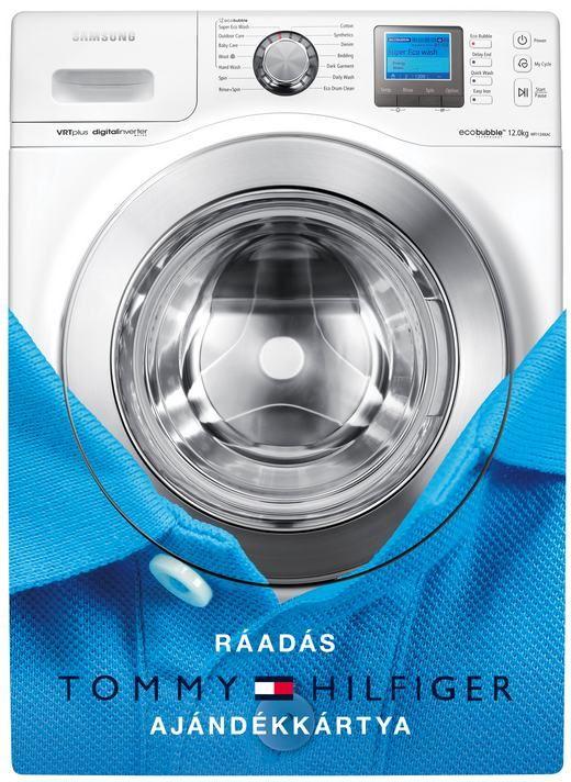 A Samsung Tommy Hilfiger vásárlási utalványt ajándékoz az ecobubble™ mosógépek vásárlóinak  2012. szeptember 15. és október 31. között
