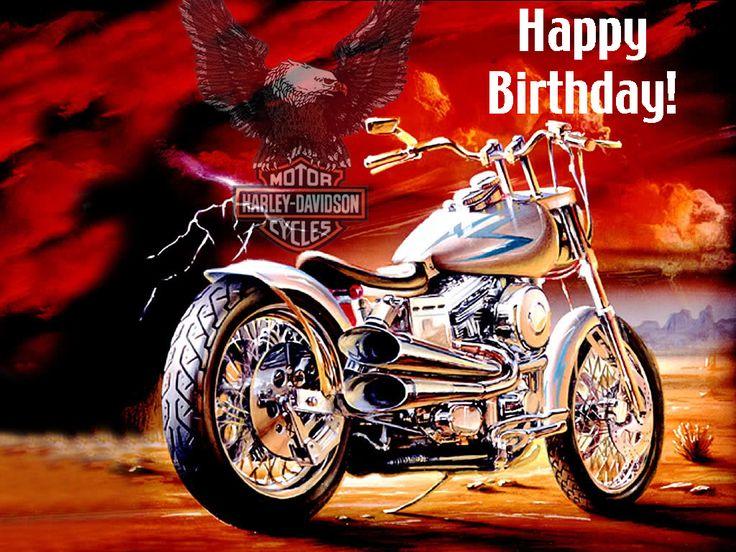┌iiiii┐                                                                 Happy Birthday Harley Davidson