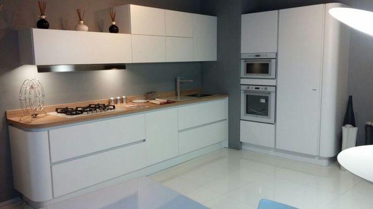 Cucina bianca top rovere torre malaspina pinterest cucina - Cucina bianca top nero ...