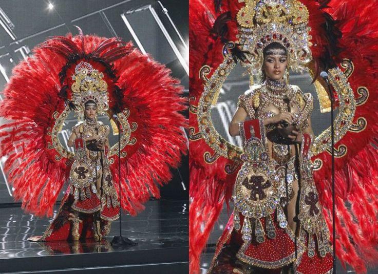 Zdjęcie numer 12 w galerii - Miss Universe. Stroje narodowe kandydatek to DZIEŁA SZTUKI. Największy szok? Miss Hiszpanii. Przebrała się za...