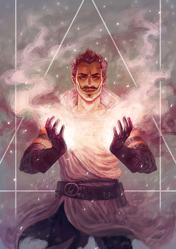 The Magician by endrae.deviantart.com on @DeviantArt