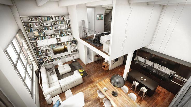 #Reportage : Le #Nordelec #Home #Deco #Penthouse #Montreal. By Aurèle Cardinal.