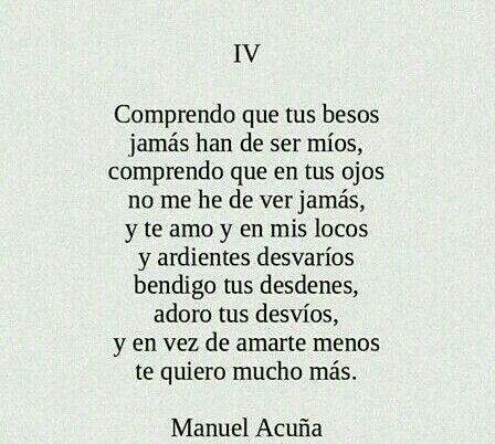 Manuel Acuña.