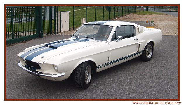 Mustang GT500 Shelby 1967, what else!