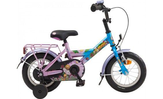 Maya - Maya, wie kent haar niet? Voor de allerkleinste is er nu de mooie Maya kinderfiets! Deze 12 inch kinderfiets is geschikt voor kinderen van 3 tot 4 jaar.