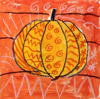 Artsonia Art Gallery - 1st - Pattern Pumpkins